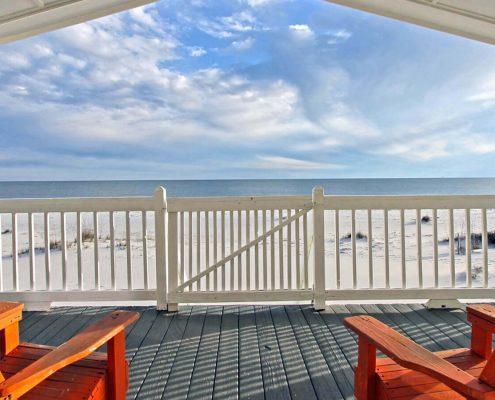 Gulf front view - Gulf Shores, Alabama