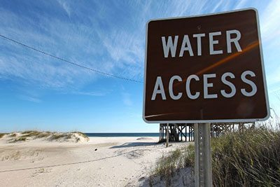 Water Access - Gulf Shores, Alabama