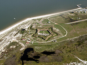 Fort Morgan in Gulf Shores Alabama