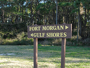 Fort Morgan Sign