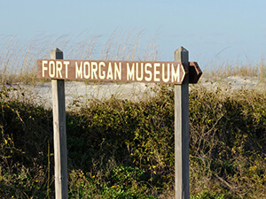 Fort Morgan Museum in Gulf Shores Alabama