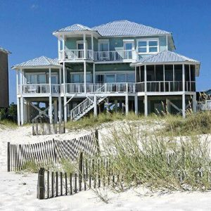 beach front vacation rental