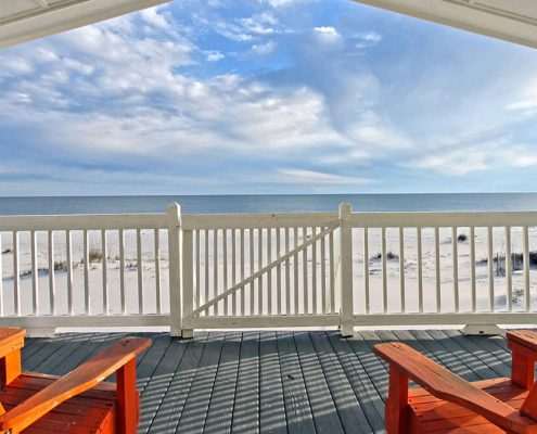 Beach front vacation rentals
