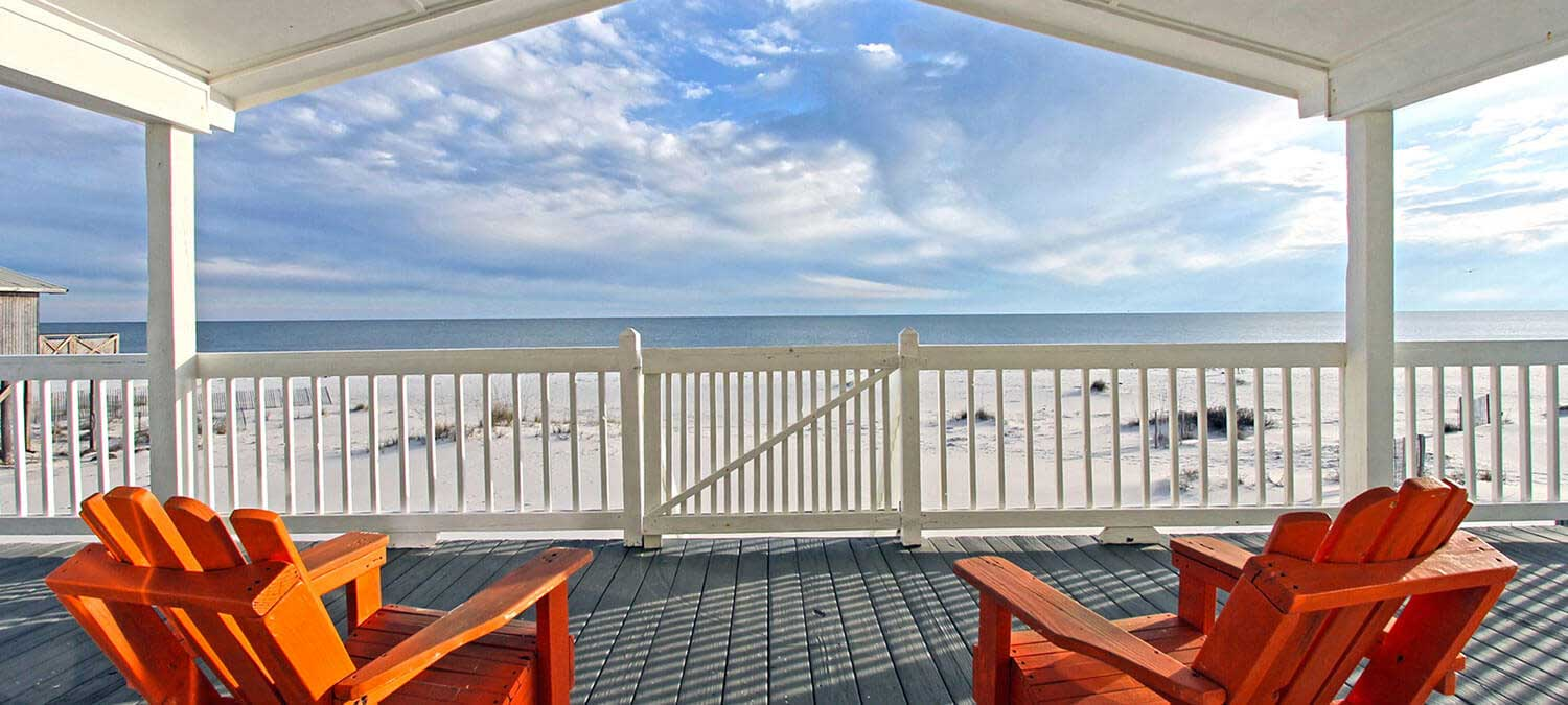 Beach front vacation rentals
